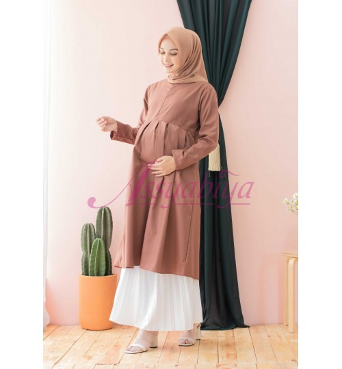 Zea Tunik Mocca (Bumil & busui friendly)