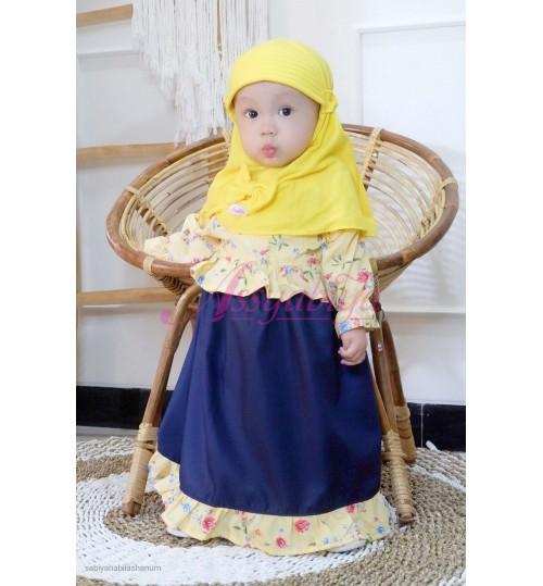 Gamis Bayi Maura Kuning