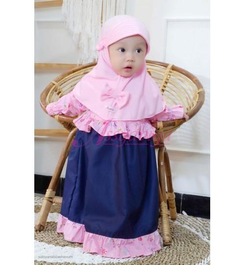 Gamis Bayi Maura Pink